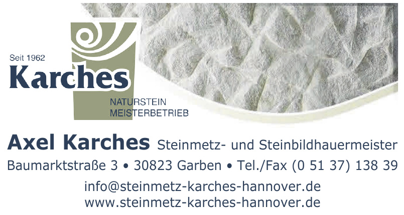 Karches Naturstein Meisterbetrieb
