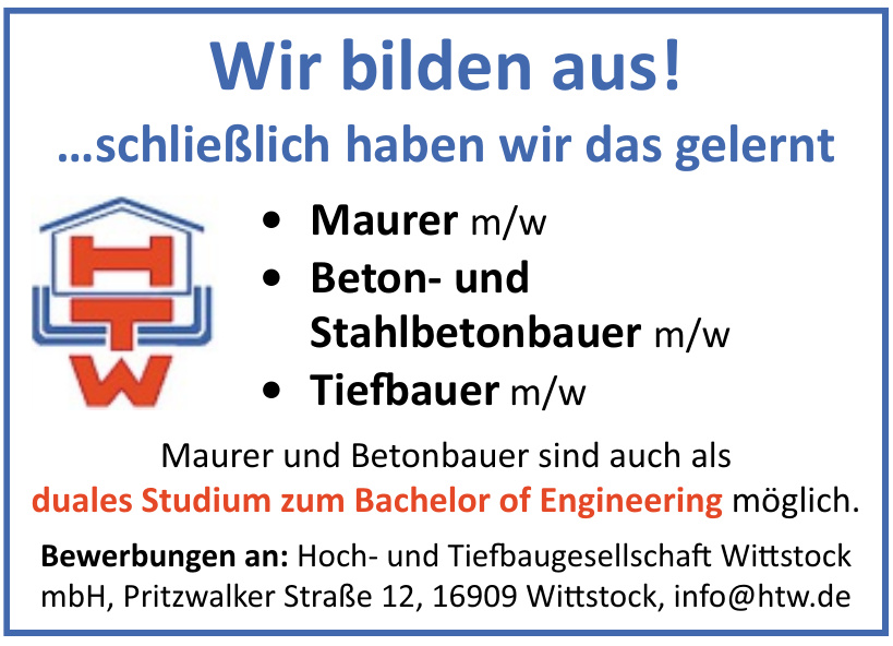 HTW Hoch- und Tiefbaugesellschaft Wittstock mbH