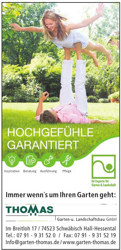 Thomas Garten- u. Landschaftsbau GmbH