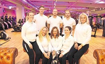 10-jähriges Jubiläum des Fitnessstudios Sports Club in Wittenberge