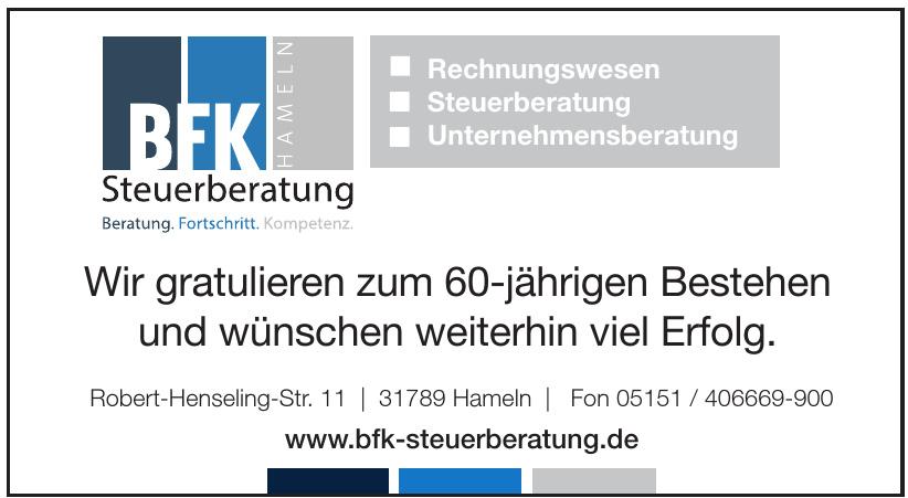 BFK Hameln Steuerberatung
