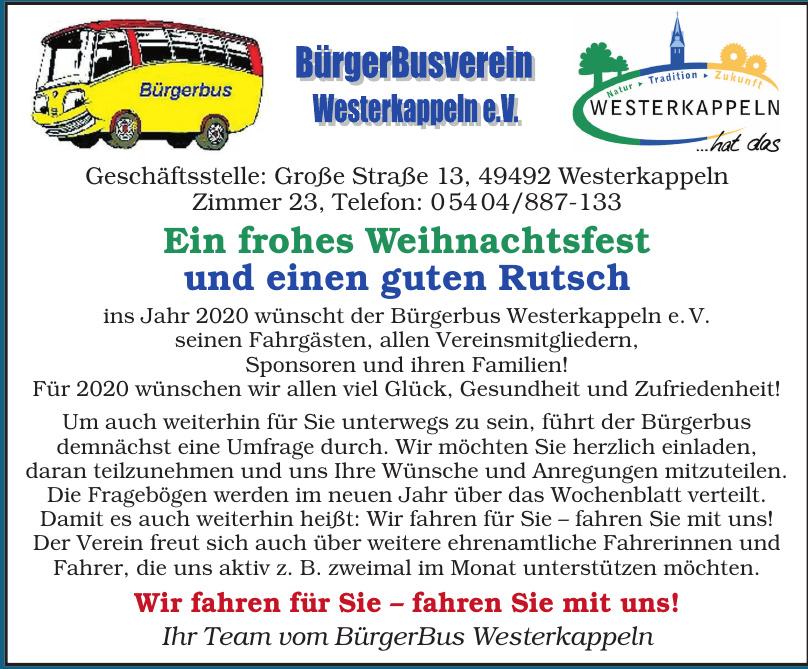 BürgerBus Westerkappeln e.V.