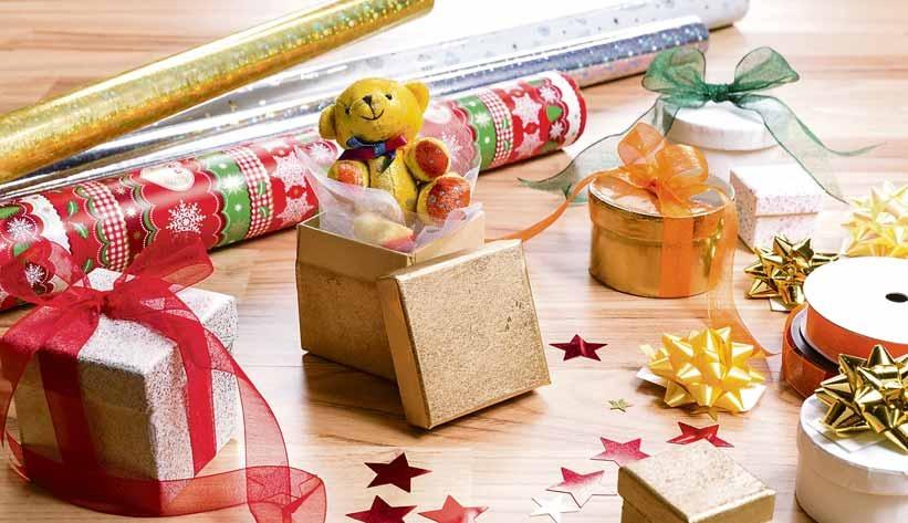 Keine Geschenke ohne schöne Verpackung. Foto: stock.adobe.com