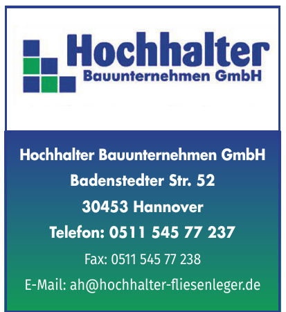 Hochhalter Bauunternehmen GmbH