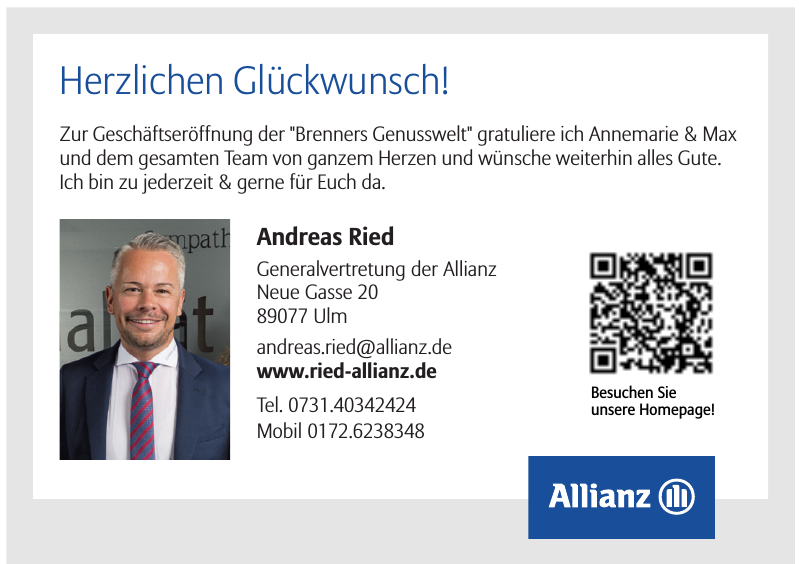 Andreas Ried Generalvertretung der Allianz