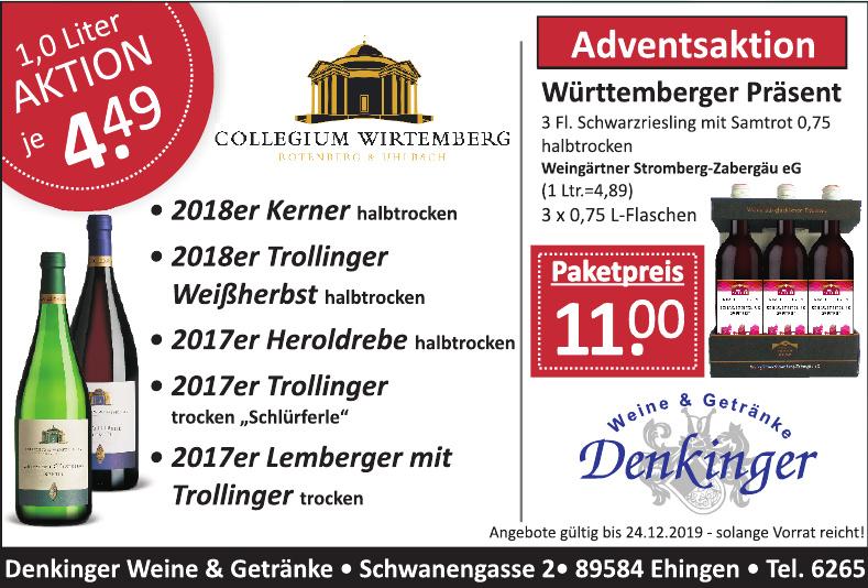 Denkinger Weine & Getränke