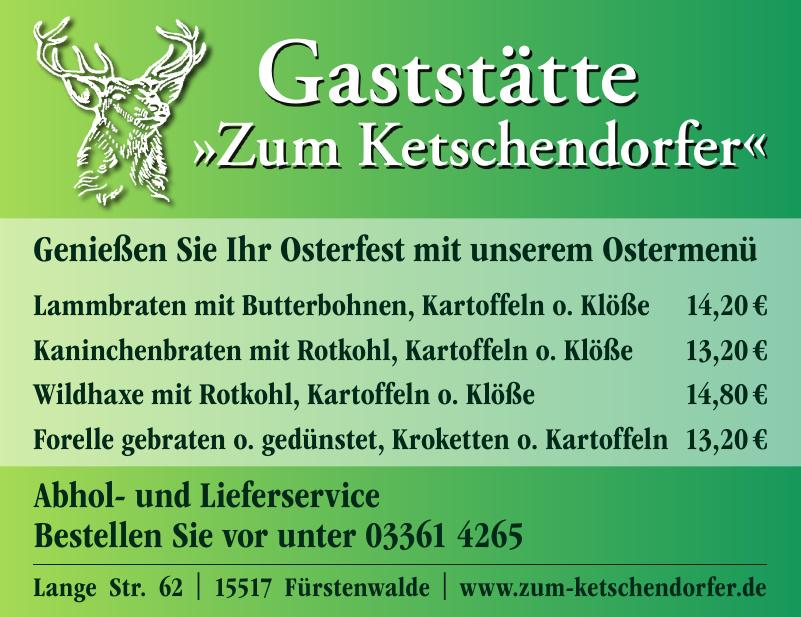 Gaststätte Zum Ketschendorfer