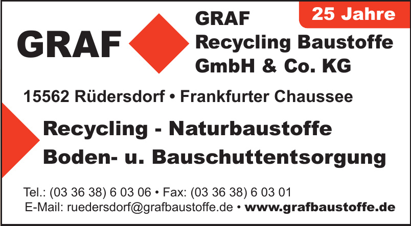 GRAF Recycling Baustoffe GmbH & Co. KG