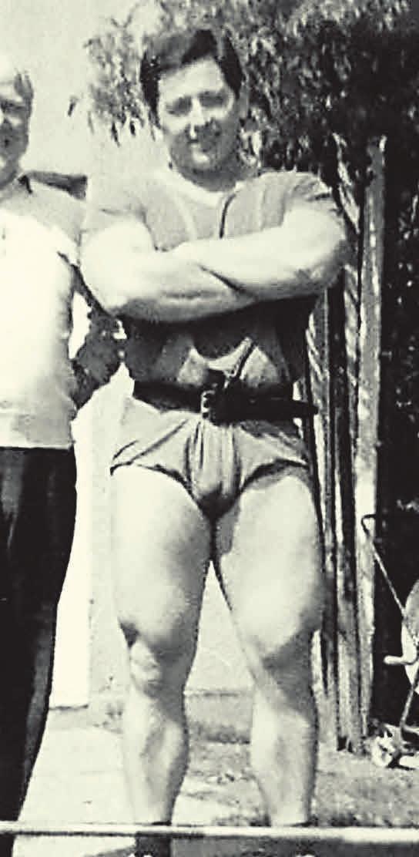 VfLer und Olympiateilnehmer: Günter Wu 1967.