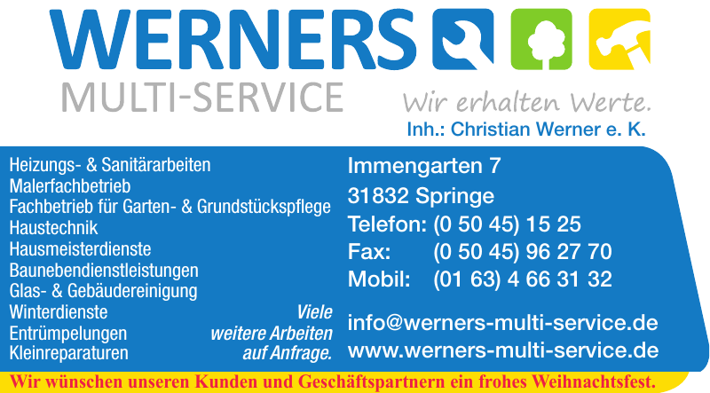 Werners Multi-Service