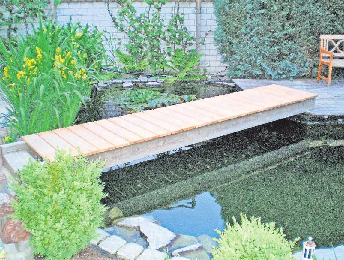 Auch individuelle Lösungen realisiert der Gartenbaubetrieb Gruschwitz.
