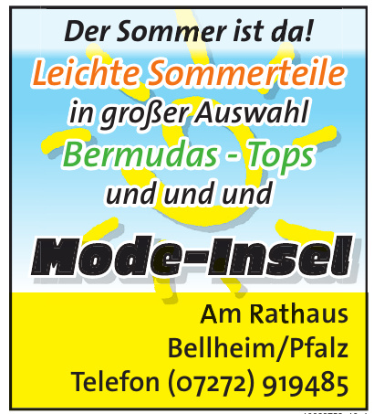 Mode-Insel