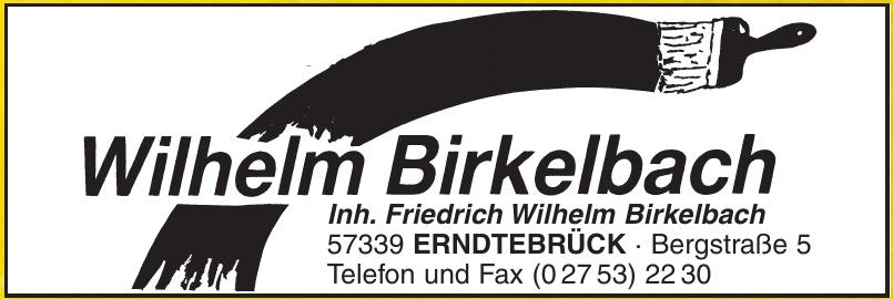 Wilhelm Birkelbach
