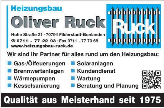 Heizungsbau Oliver Ruck
