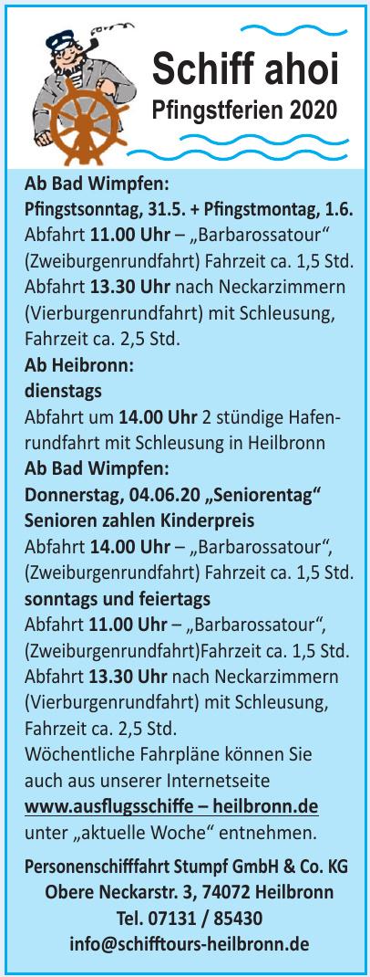 Personenschifffahrt Stumpf GmbH & Co. KG