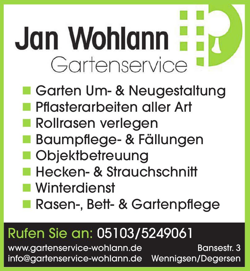 Jan Wohlann Gartenservice