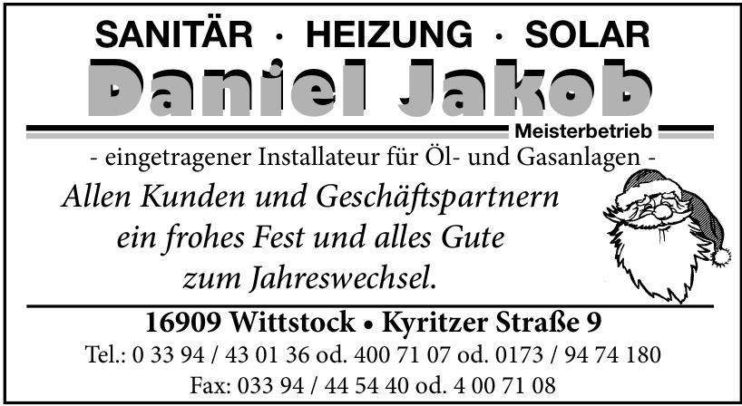 Daniel Jakob Sanitär Heizung Solar