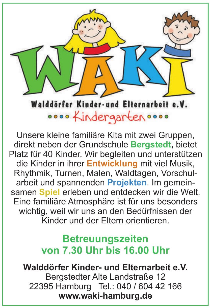 Walddörfer Kinder- und Elternarbeit e. V.