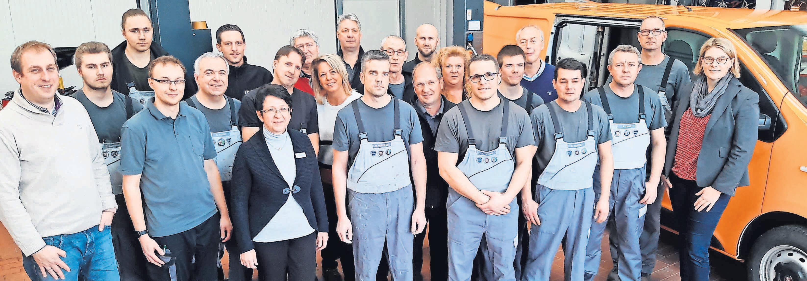 Das Team vom Autohaus Sellmann gehört zu den besten Deutschlands.