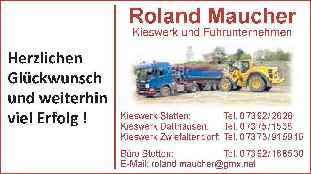 Roland Maucher Kieswerk und Fuhrunternehmen