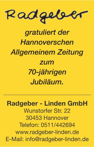 Radgeber - Linden GmbH