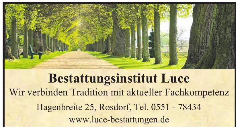 Bestattungsinstitut Luce