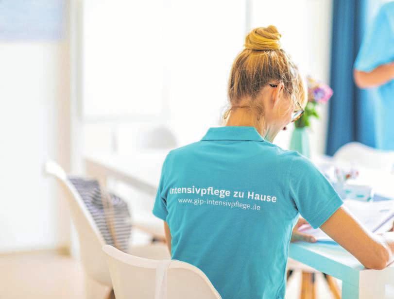 Die Kieler Intensivpflege-WG bietet ideale Bedingungen für Bewohner und examinierte Pflegekräfte. FOTO: JACQUELINE HÄUSSLER