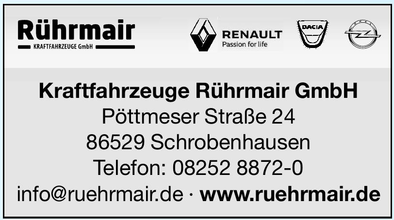Kraftfahrzeuge Rührmair GmbH