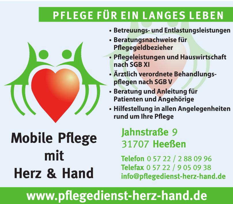 Pflegedienst Herz Hand