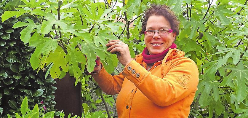 Für Pflanzen und Garten: Agnes Linnea Weisheit. FOTO: WEISHEIT