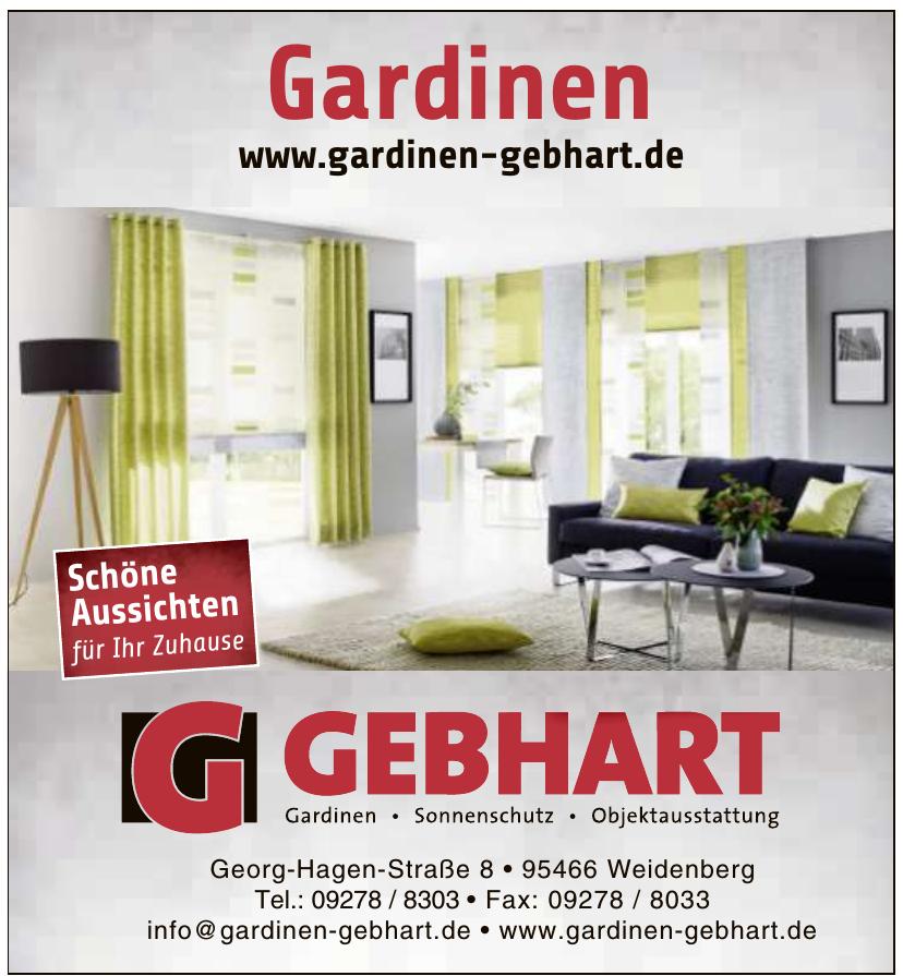 Gardinen Gebhart