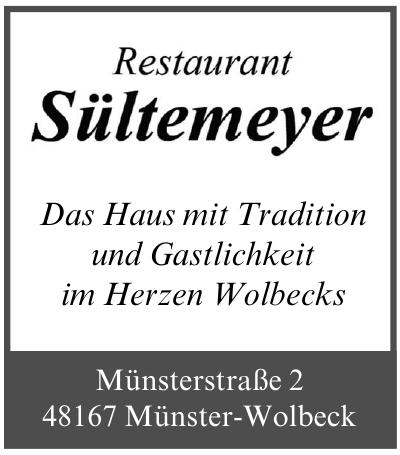 Restaurant Sültemeyer