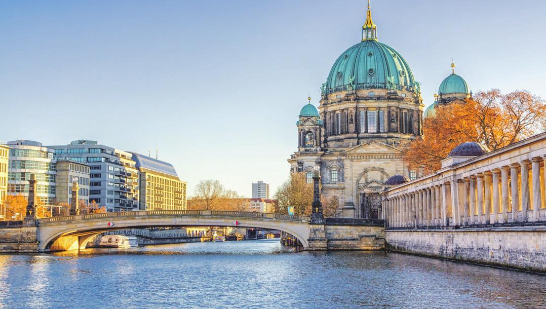 Goldener Herbst in Berlin. Foto: Shutterstock | Holger Boehm