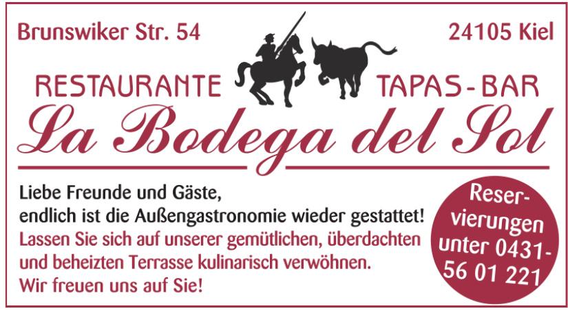 Restaurante Tapas-Bar La Bodega det Sot