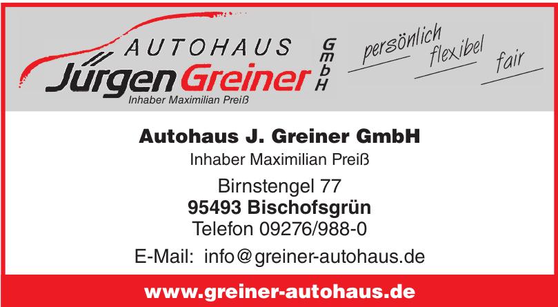 Autohaus J. Greiner GmbH