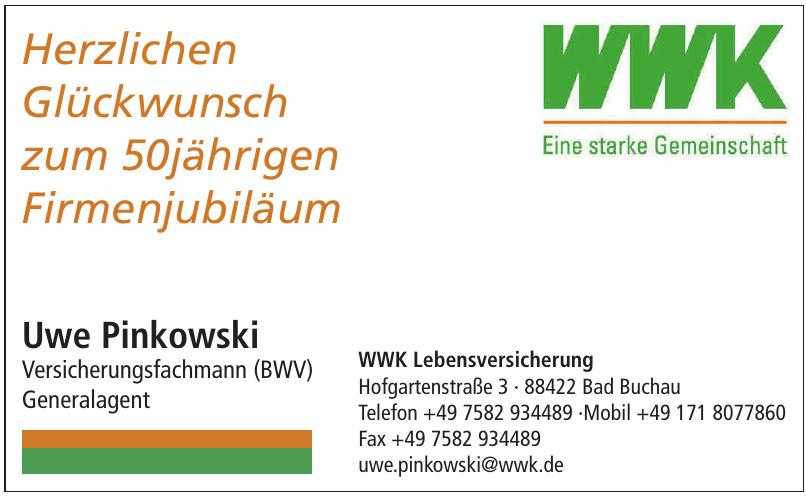 Uwe Pinkowski WWK Lebensversicherung