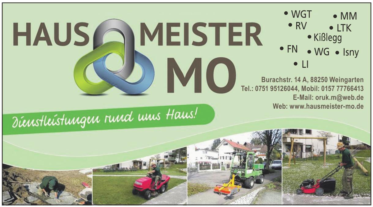 Hausmeister Mo