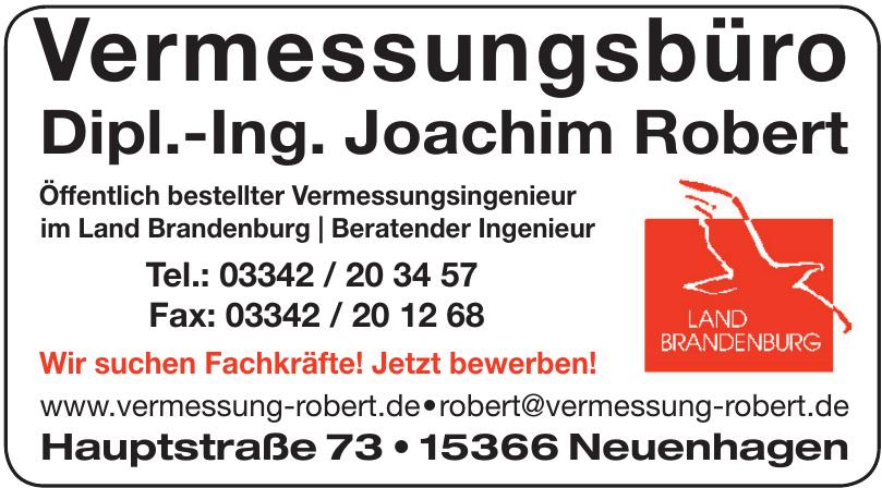 Vermessungsbüro Dipl.-Ing. Joachim Robert