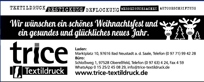 TRICE Textildruck