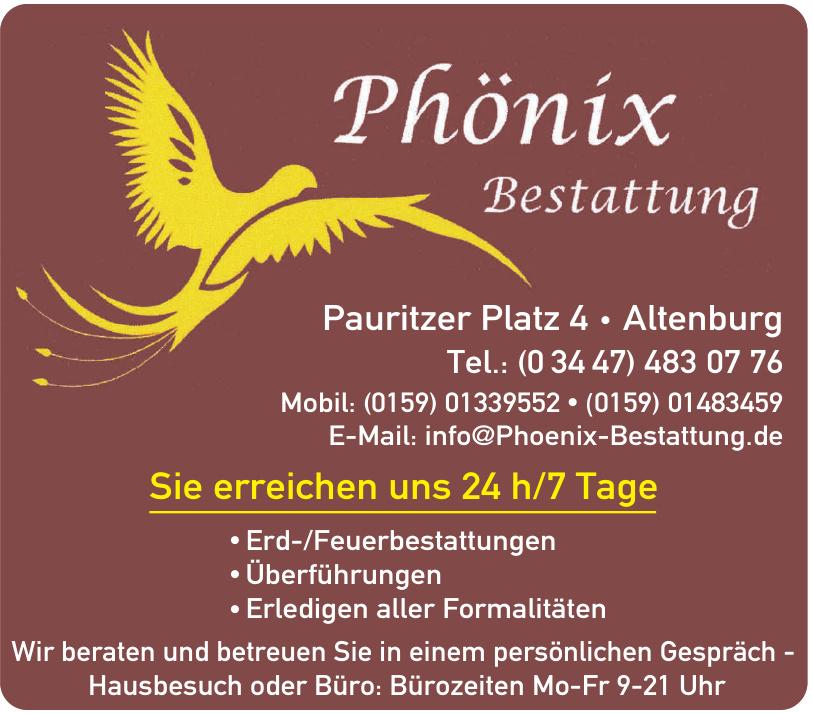 Phönix Bestattung