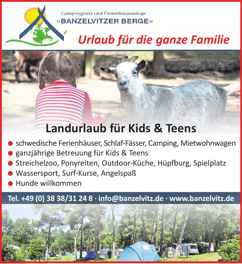 Campingbetrieb Banzelvitzer Berge GmbH