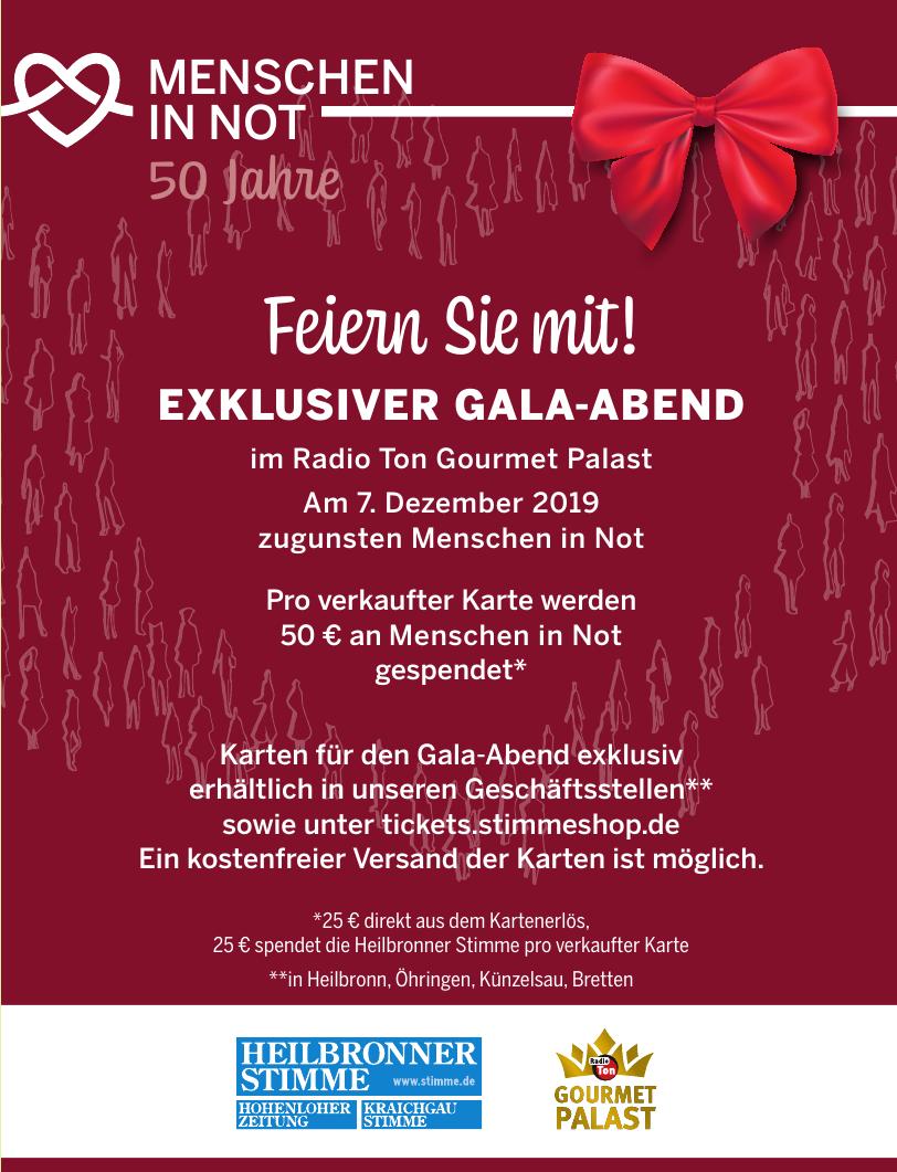 Menschen im Not - 50 Jahre Gala-Abend