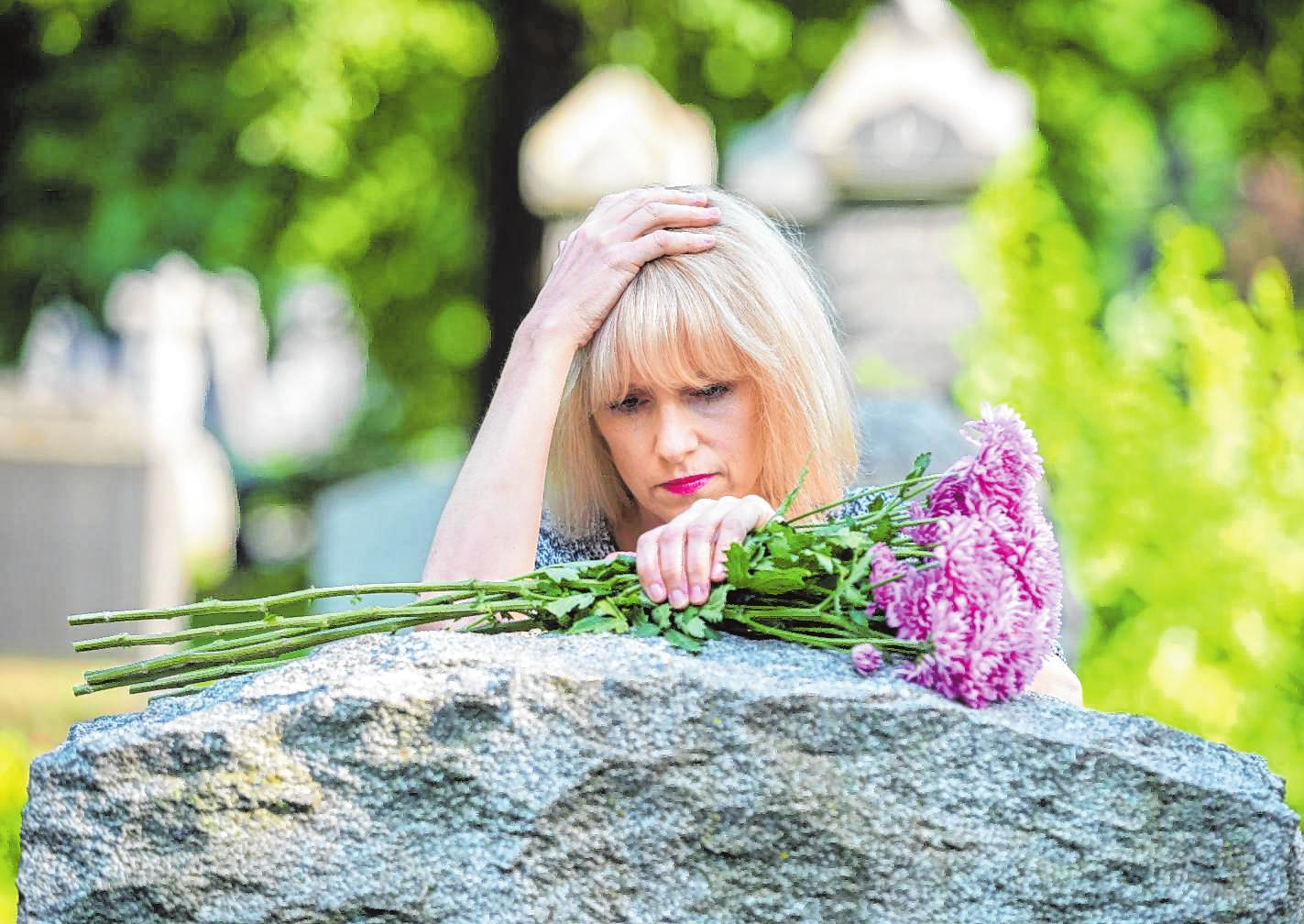 Nicht zugelassene Trauer kann krank machen