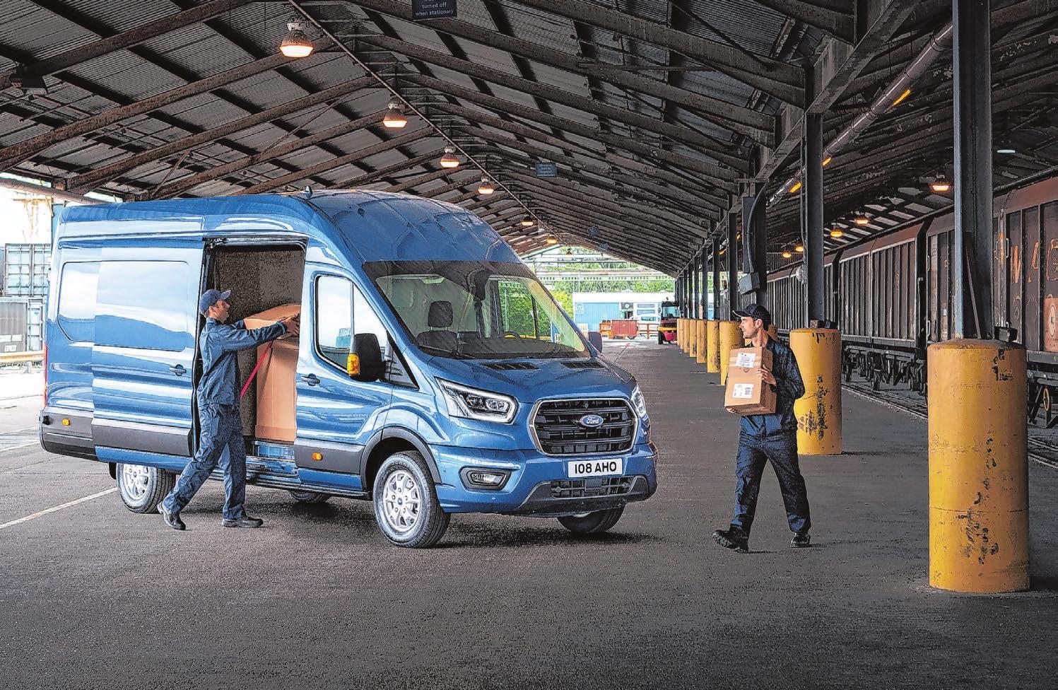 Der Ford Transit ist seit Jahren ein beliebter Transporter