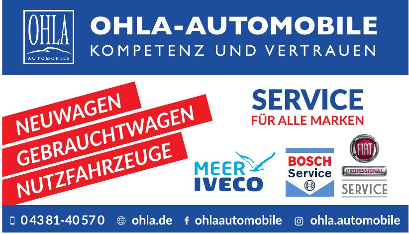 Ohla Automobile