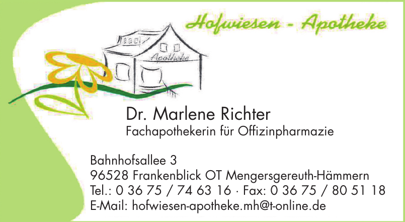 Hofwiesen Apotheke