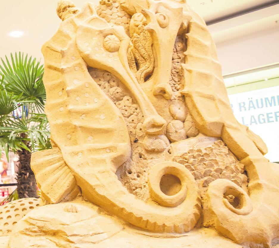 Sand-Kunst im Center Image 1