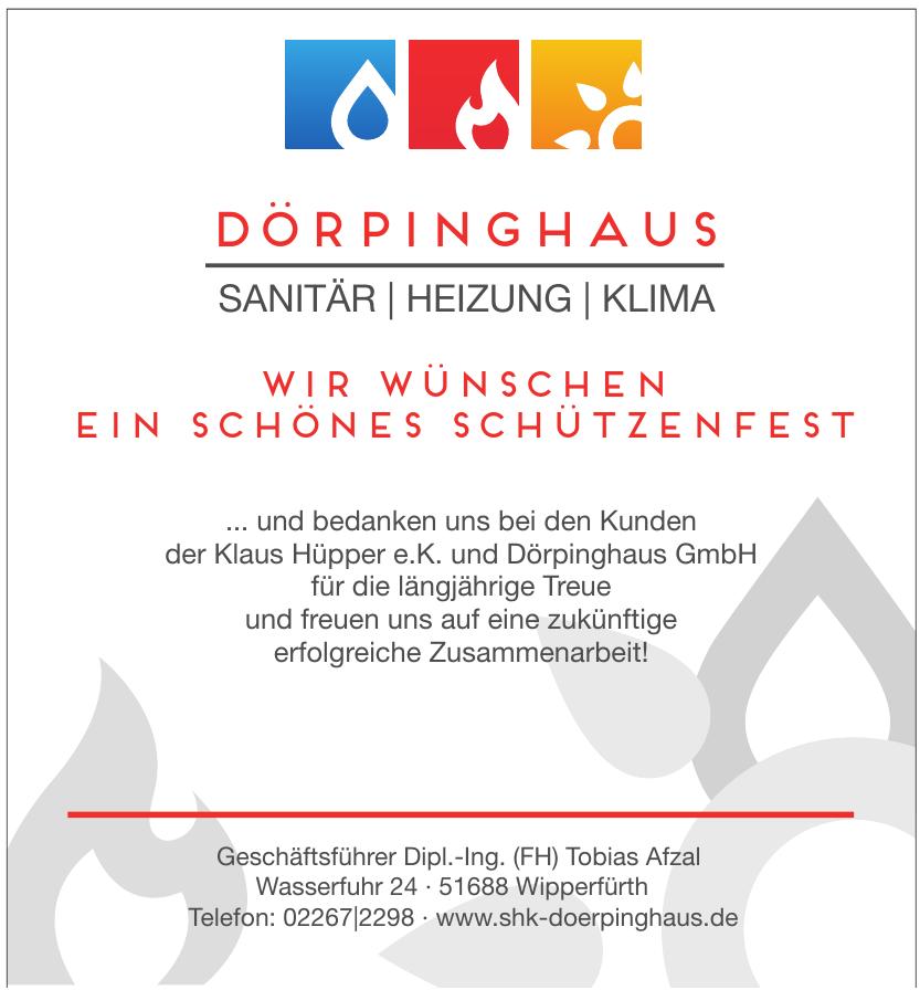 Dörpinghaus - Geschäftsführer Dipl.-Ing. (FH) Tobias Afzal