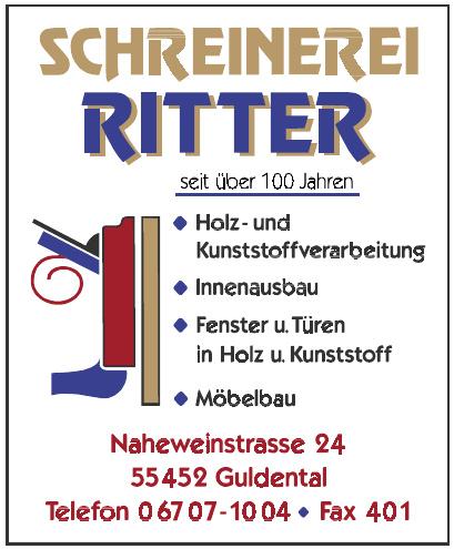 Ritter Schreinerei