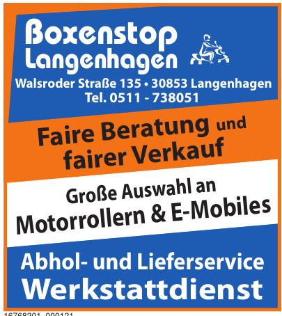 Boxenstop Langenhagen